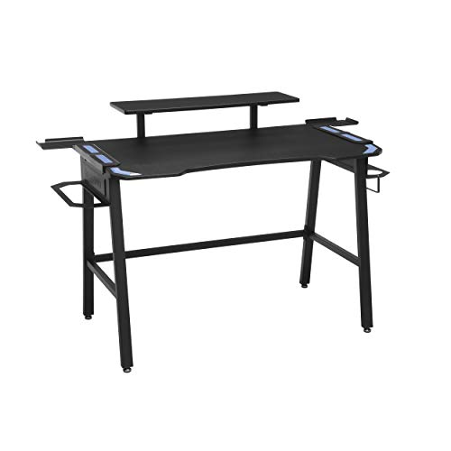 RESPAWN 1010 Gaming Computer Desk, in Blue (RSP-1010-BLU), Fixed Height ()