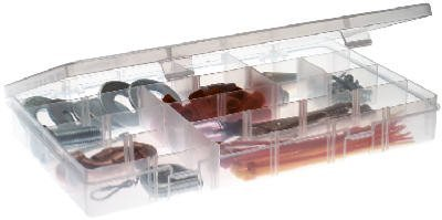 Plano 2-3750-02 1.5'' Clear Adjustable Compartment StowAway Organizer