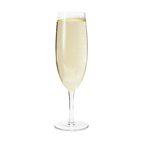 (Big Betty Extra Large XL Champagne Flute Glass - 25oz - Holds a Whole Bottle of Champagne! Perfect for Christmas/New Years Eve Gag/Novelty Gift!)
