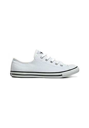 Converse Womens Chuck Taylor All Star Dainty Ox White,Black