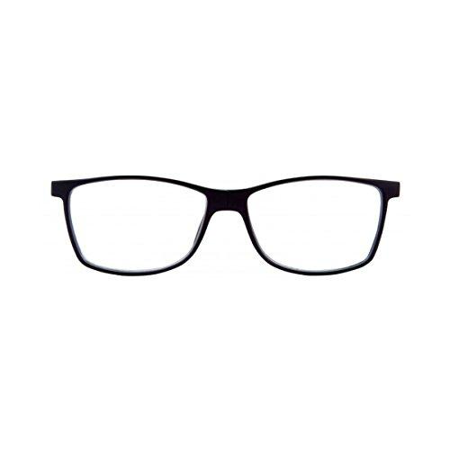 pour Vue anti Côtés de Noir Lunettes reflets CAMDEN de femme homme Ordinateur Magnétique Repos amp; lunettes pour Presbyte Lentilles 009 Lecture de et Latéraux Réglables RqOZW5Ow