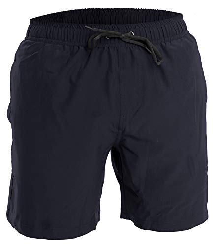 Mens Swim Trunks and Workout Shorts - XL - Navy - Perfect Swimsuit or Athletic Shorts for The Beach, Lifting, Running, Surfing, Pool, Gym. Boardshorts, Swimwear/Swim Suit for Adults, Mens Boys