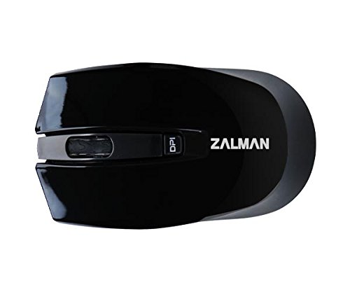 Zalman ZM-520WBK Optical Wireless Mouse Nano Receiver (ZM-M520WBK) by Zalman