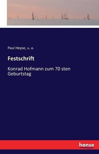 Download Festschrift (German Edition) ebook