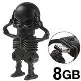 T & J HUT ® High Quality Skull shape Flash Drive - 8 GB