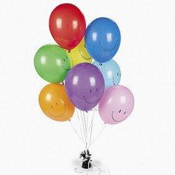 Latex Smile Face Balloons (144 pieces) ()