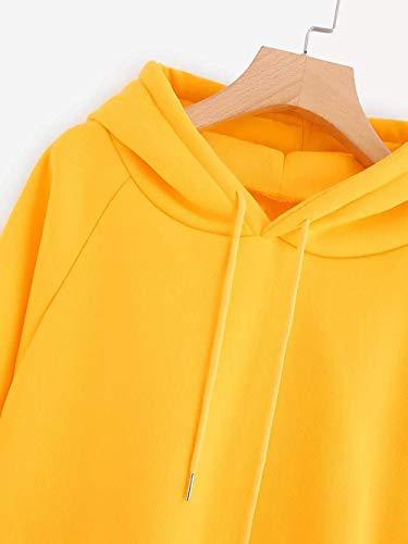 Capuche Et Fuxitoggo Pull Tops Sweat Femmes shirt À Pour aUwUq4E