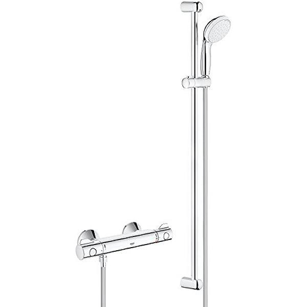 Grohe Grohtherm 1000 - Conjunto de ducha con termostato de ducha 1 ...