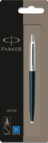- Parker Jotter Standard Black Retractable Ballpoint Pen, Each