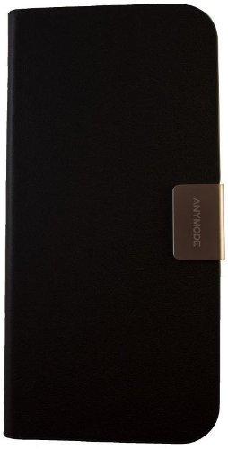Anymode BBFF000KBK Folio Frame Case für Apple iPhone 5 schwarz