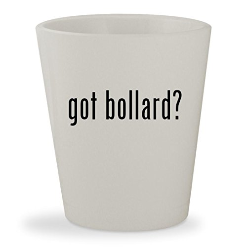 got bollard? - White Ceramic 1.5oz Shot Glass - Malibu Solar Post