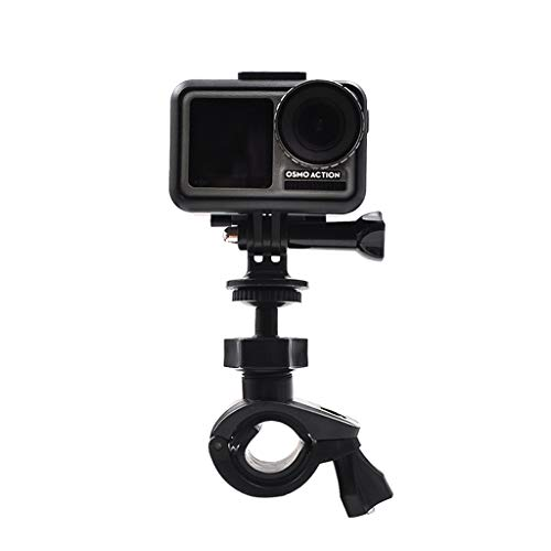 - MChoice❤️for DJI Osmo Action Camera Accessories Bicycle Holder Stand 360° Whirl Bike Handlebar Mount Holder Black
