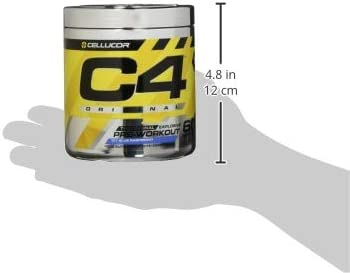 Cellucor C4 Extreme 60 Portionen Icy Blue Razz, 1er Pack (1 x 348 g)