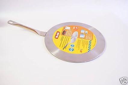IBILI Adaptador Acero Inoxidable cazo para Placa inducción 19 cm Starlit