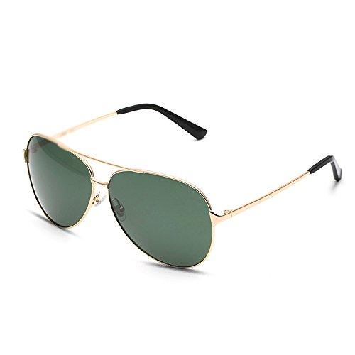 MAHZONG UV protection nettoyage Lunettes Hiker Couleur Convient 4 chiffon conduite soleil manuel la disponibles et Sunglasses Vert couleurs complète Vert de pour d'instruction de rqrxOX0