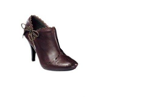 CHILLANY Stiefelette - Botas de Piel para mujer marrón