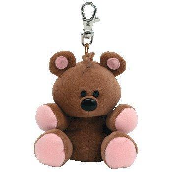 Ty Beanie Babies - Pooky Key-Clip the Bear (Pookie Keychain)