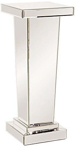 Howard Elliott 11132 Tapered Mirrored Pedestal, 15 x 15 x 36-Inch