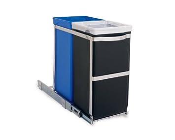 Amazon.com: simplehuman cesto extensible para bajomesada, 35 ...