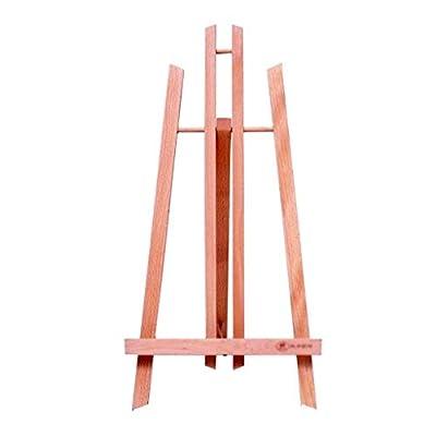 H.ZHOU Easel Desktop Painting Advertising Display Wooden Triangle Shelf Versatile Use