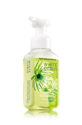 Bath & Body Works, Gentle Foaming Hand Soap, White Citrus - Lotion Body Citrus White