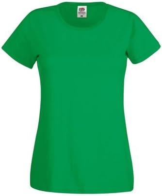 Fruit of the Loom - Camiseta - para Hombre Verde Kelly Verde Large: Amazon.es: Ropa y accesorios
