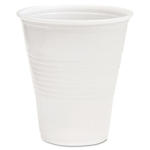 Boardwalk TRANSCUP12CT Translucent Plastic Cold Cups, 12oz (Case of 1000)