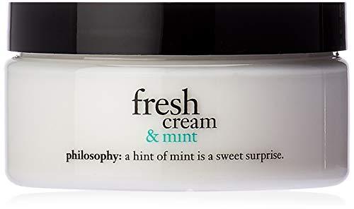 Philosophy Fresh Cream and Mint Glazed Body Souffle, 8 Ounce