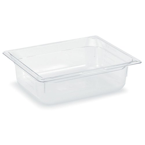 Vollrath 8022410 Clear Half Size x 2.5'' D Low Temp Food Pan by Vollrath