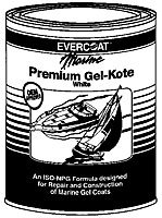 Fiberglass Evercoat Polyester Gel Kote QT (Neutral) - Fiberglass Evercoat Gel