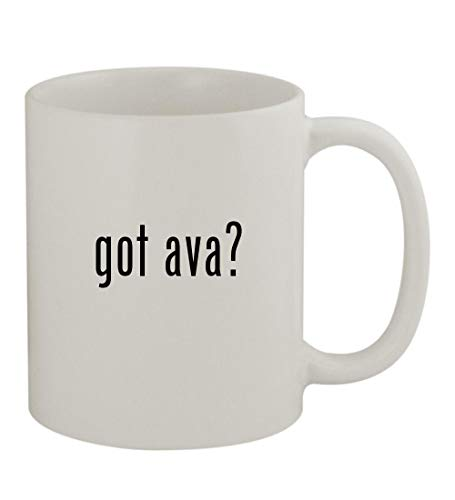 got ava? - 11oz Sturdy Ceramic Coffee Cup Mug, White