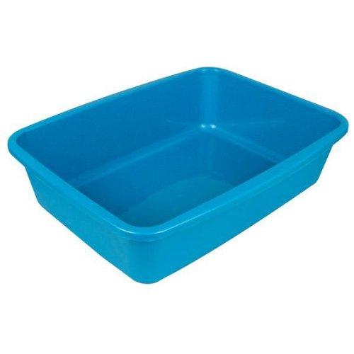Doskocil Litter Pan – Large (18 1/2″ long x 15 1/4″ wide x 5 1/4″ high), My Pet Supplies