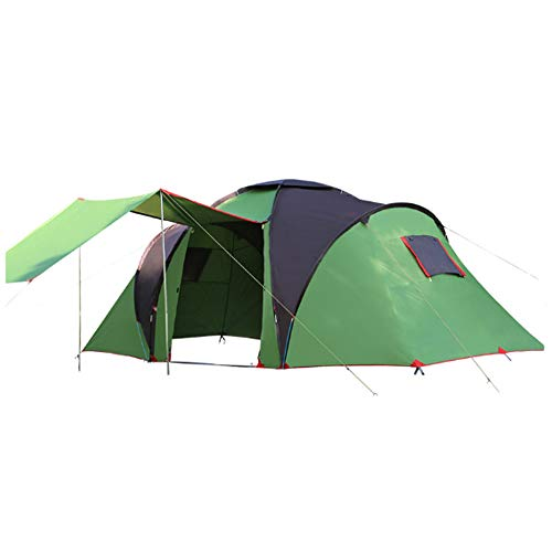 gonglang Outdoor Two-Bedroom, one-Bedroom Tent 5 8 People Camping Equipment, Beach Camping, Sunscreen Tent 产品UPC码(16个字符):