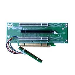 2U 1 x PCI-Express 16x and 2 x 32Bit 5V PCI Riser Card