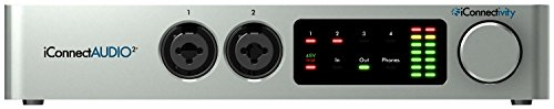 iConnectAUDIO2+ Ultra-Versatile 2-in 6-out Audio & MIDI Interface for Musicians & DJs from iConnectivity