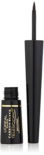 Loreal Telescopic Liner (L'Oréal Paris Telescopic Precision Liquid Eyeliner, Carbon Black, 0.08 fl. oz.)