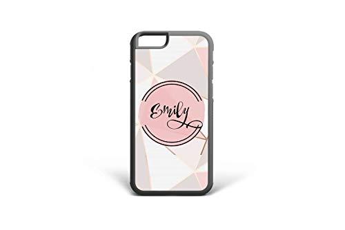 Koldan Custom Name iPhone 8 Plus 7 Plus Case Geometric Design 5 5S SE iPhone X XR XS Max Triangle iPhone 7 8 6 6S Plus Gentle Colors Samsung S9 Plus S8 Plus Cover Note 9 Note 8 S6 S7 Edge 2DaO640