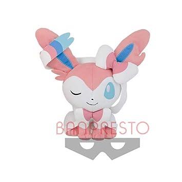 Pokemon Sylveon Stuffed Plush Doll Toys Gift 10 Inch Nymphia