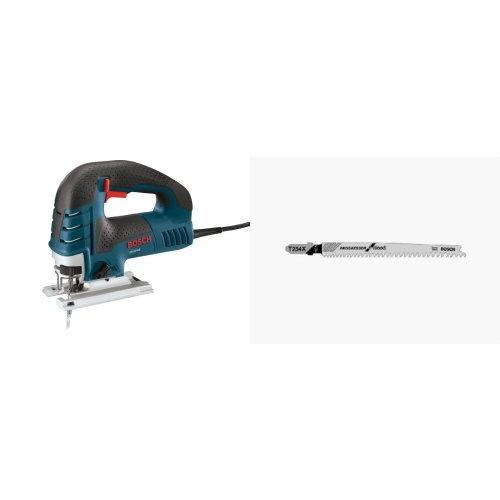 - Bosch JS470E 120-Volt 7-Amp Top-Handle Jigsaw with T234X Progressor 5-Pack Wood Blade