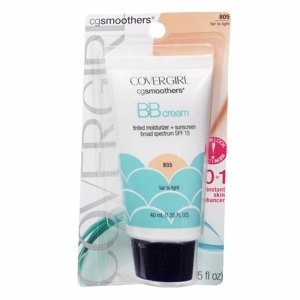 CoverGirl Smoothers BB Cream Tinted Moisture, Fair to Light 805 1.35 fl oz