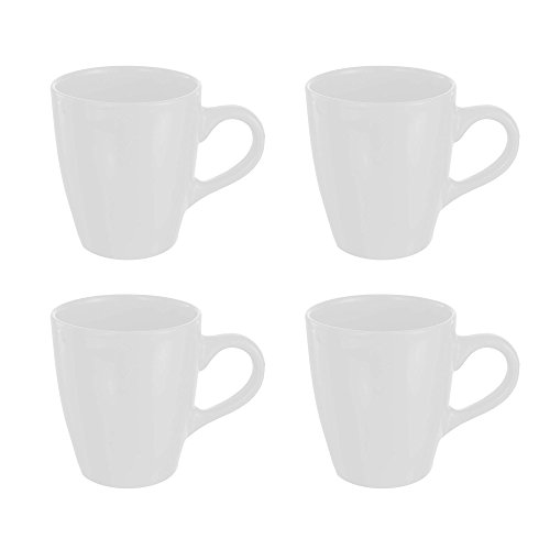 (American Atelier Bistro Mugs (Set of 4), White)