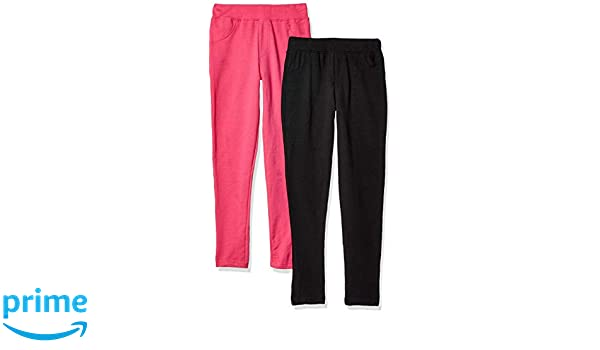 7248dbea07930 Amazon.com: Freestyle Revolution Girls' Big Fs7-77246-french Terry Leggings  (2 Pack): Clothing