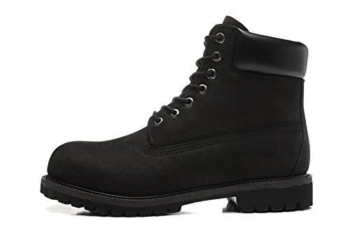 Jacata Mens 6 Wedge Waterproof Work Boot Black 5s4Xoo