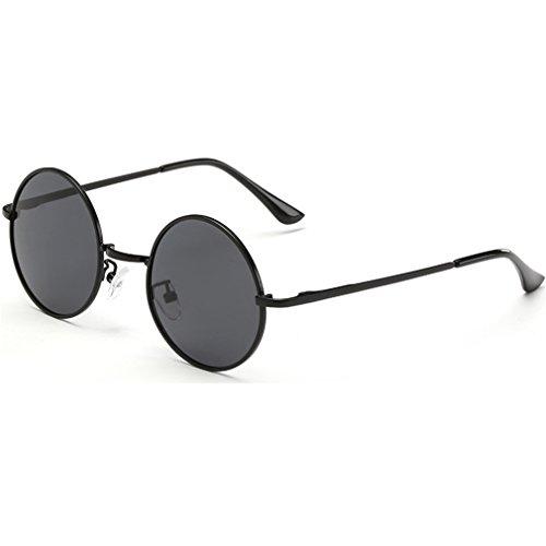 9bc6a28ba7 Dollger John Lennon Round Sunglasses Steampunk Metal Spring Frame Mirror  Lens - Buy Online in Oman.