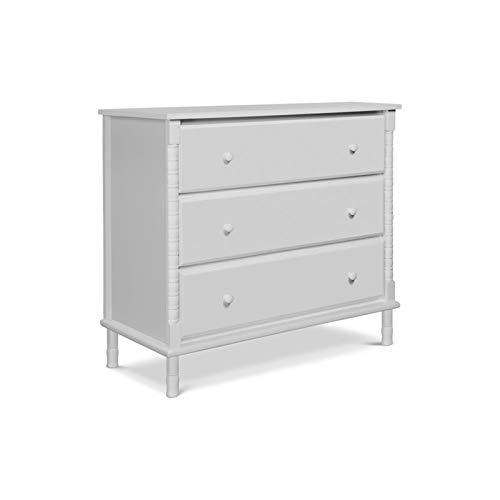Davinci Jenny Lind Spindle 3 Drawer Dresser, Fog Grey