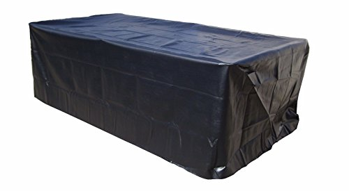 (East Eagle Outdoor Pool Snooker Billiard Table Cover to The Floor Heavy Duty Vinyl 8 9ft (8FT))