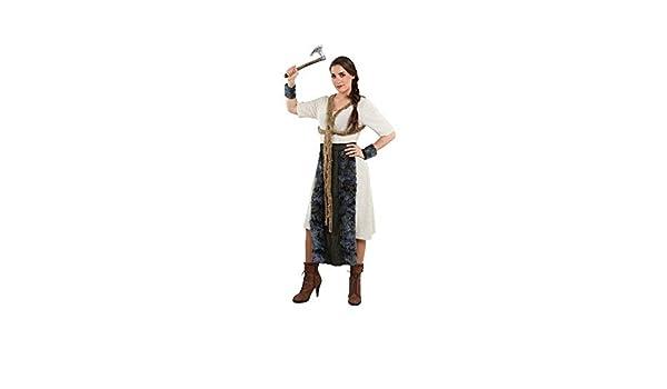 DISBACANAL Disfraz de vikinga Mujer - -, M: Amazon.es: Juguetes y ...