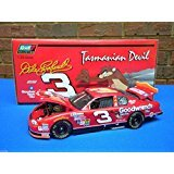 Dale Earnhardt Sr #3 Taz Tasmanian Devil 2000 Edition No Bull Paint Scheme Revell Collection 1/24 Scale Diecast Hood and Trunk Opening Clear Window Bank & Bonus 1/64 Scale Diecast Hood Opening Car Limited Edition (Collection Revell)
