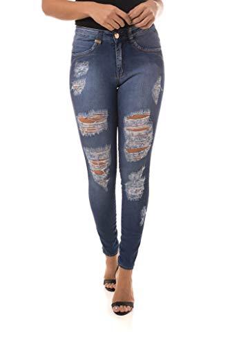 Calça Jeans Denuncia New Skinny Azul 48