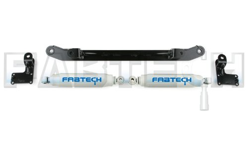 Fabtech FTS8001 Dual Performance Steering Stabilizer for Ford Super Duty 2WD ()